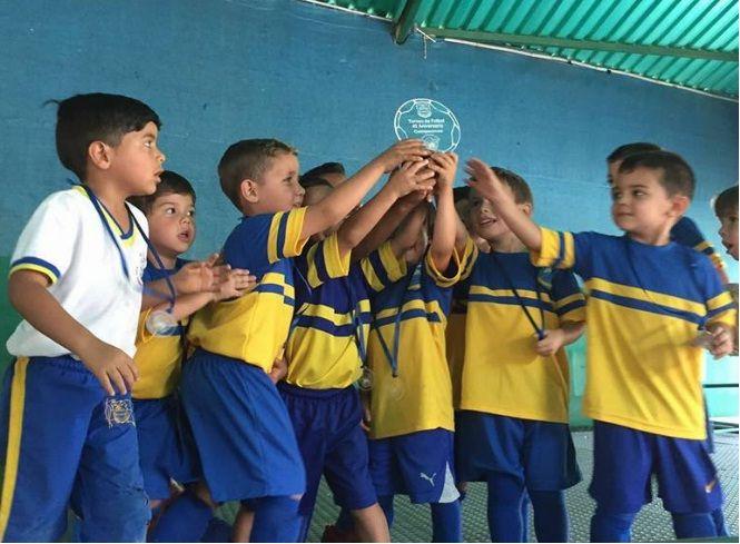 """Ganadores """"Torneo fútbol 40 Aniversario""""."""