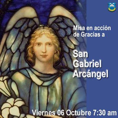Misa en Acción de Gracias a San Gabriel Arcángel