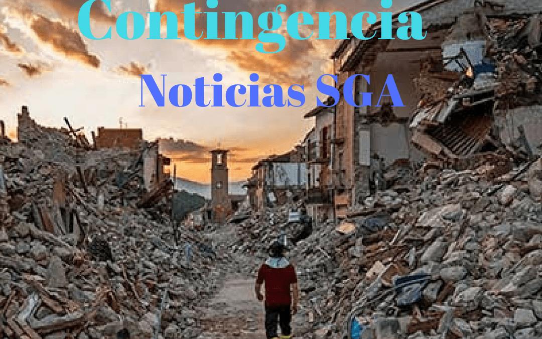 Medidas de Contingencia contra Sismos.